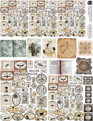 Secret Spell Book Labels Collage Sheet