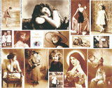 Sepia Beauties Collage Sheet