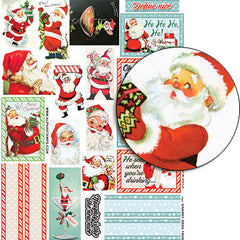 Snarky Xmas Tags Collage Sheet