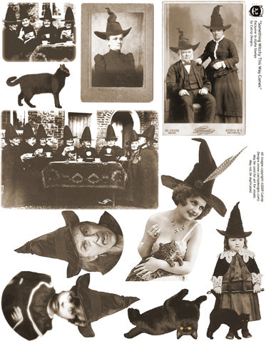 Something Witchy Collage Sheet
