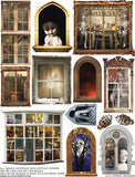 Spooky Windows Collage Sheet