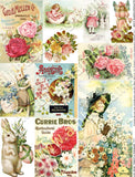 Spring Floral Mini Kit Collage Sheet