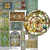 Stained Glass Windows Collage Sheet