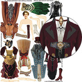 Steampunk Fashions #2 Collage Sheet