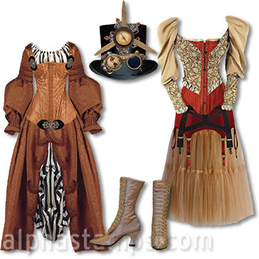 Steampunk Fashion Set Download