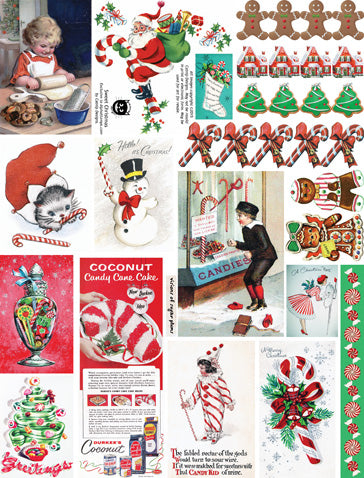 Sweet Christmas Collage Sheet