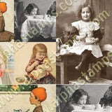 Sweet Tea Collage Sheet