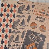 Haunted House Kraft 12x12 Paper Set*