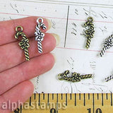 Candy Cane Charms