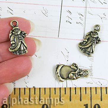 St. Nick Charms - Brass Oxide