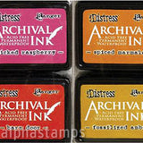 Tim Holtz Distress Archival Mini Ink Pad Set - Kit 1