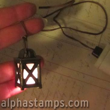 Mini Lantern with Battery Pack