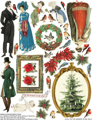 Tis the Season to Be Jolly Collage Sheet