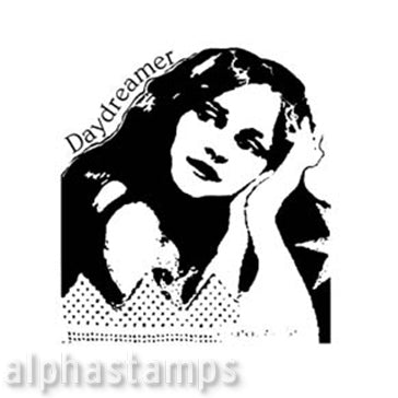 Daydreamer Rubber Stamp