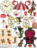 Tea Party Alice Collage Sheet