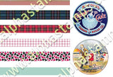 Teeny Tiny Tin Labels Collage Sheet