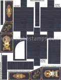 Secretary 1:12 Scale Collage Sheet Set