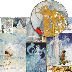 The Snow Queen Collage Sheet