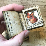Framed Matchbox Book