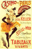Art Nouveau Theatre Posters Collage Sheet