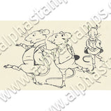 3 Blind Mice Collage Sheet