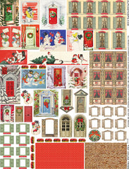 Tiny House Trims Collage Sheet
