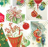 Tiny Trees, Gifts & Ornaments Collage Sheet