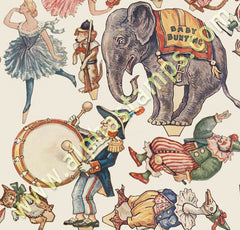Tiny Circus Collage Sheet