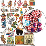 Toys #1 Collage Sheet