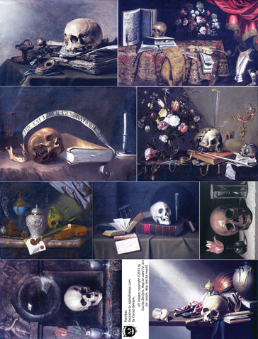 Vanitas Collage Sheet