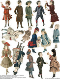 Victorian Children Collage Sheet