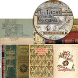 Vintage Christmas Book Covers Collage Sheet