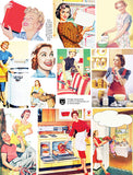Vintage Housewives Collage Sheet