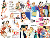 Vintage Vixens Collage Sheet