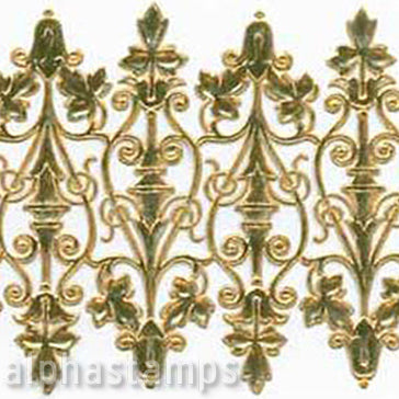 Gold Wrought Iron Dresden Scrolls - OUT OF STOCK