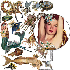Welcome to Atlantis #2 Collage Sheet