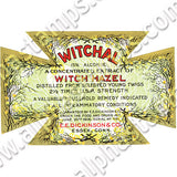Witch Hazel Collage Sheet
