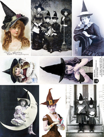 Witch Stock Collage Sheet