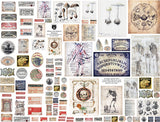 Witchy Little Labels & Ephemera Collage Sheet