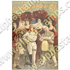 Wizard of Oz Book Covers Collage Sheet