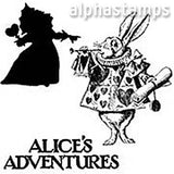 Alice's Adventures Rubber Stamp Set