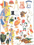 Alice Characters Collage Sheet
