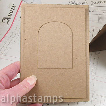 Tent Card Frame - Arched