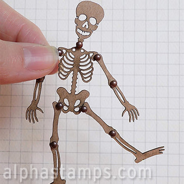 Articulated Skeleton - 4 Inch Tall