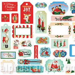 A Very Merry Christmas Cardstock Frames & Tags