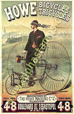 Bicycles Collage Sheet