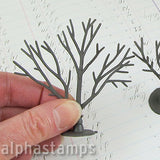Mini 3D Bare Trees