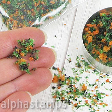 Mini Blossoms Mix - Orange