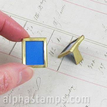 1:12 Brass Picture Frame