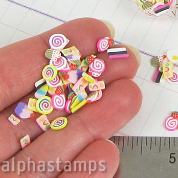 Polymer Clay Cakes Slice Mix